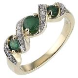 h samuel gold emerald ring compare prices at foundem